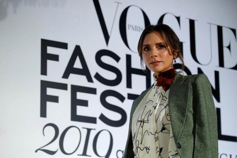 Designer Victoria Beckham attends the 4th edition of the Vogue Fashion Festival in Paris