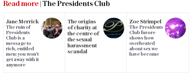 Read more | The Presidents Club
