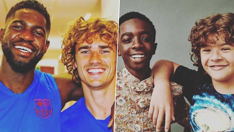 Antoine Griezmann Compares Him and Samuel Umtiti to Stranger Things' Dustin and Lucas; Netizens Go Crazy Over Comparison