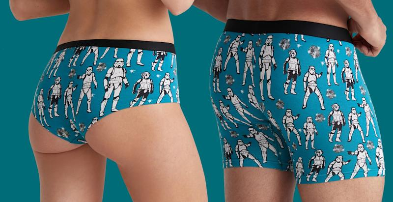 These galactic MeUndies are perfect for any jedi fan. (Photo: MeUndies)