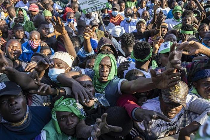 Tensions have flared in the run-up to polling in this southern African country of 17 million people.