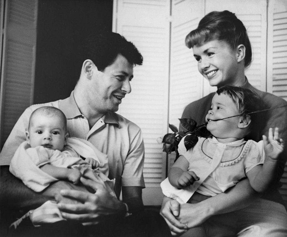 <p>In 1958, the Carrie and Eddie welcomed another child, a son named Todd. Later that year, Eddie infamously left his wife for another actress: Elizabeth Taylor. </p>