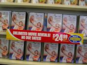 """<p> In an attempt to keep luring customers back into brick and mortar stores, <a href=""""https://www.webwire.com/ViewPressRel.asp?aId=635"""" rel=""""nofollow noopener"""" target=""""_blank"""" data-ylk=""""slk:Blockbuster eliminated late fees in 2005"""" class=""""link rapid-noclick-resp"""">Blockbuster eliminated late fees in 2005</a>, which was a puzzling (and bold) business decision, to say the least.</p><p>Source: <em>The Last Blockbuster </em>(2020)</p>"""