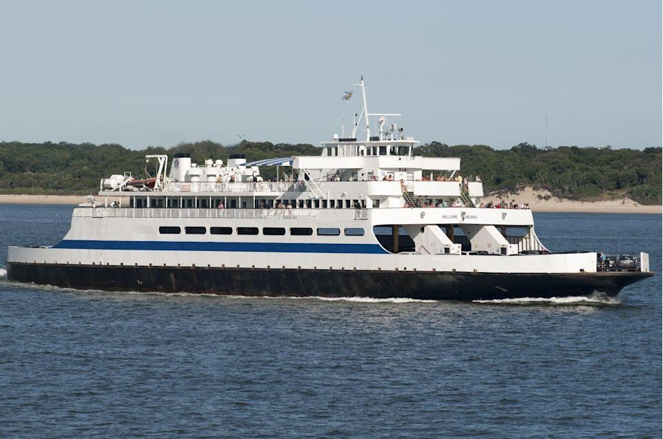 """<p>The most underrated destination is something that transports you between Cape May, New Jersey, and Lewes, Delaware: <a href=""""http://www.capemaylewesferry.com/"""" rel=""""nofollow noopener"""" target=""""_blank"""" data-ylk=""""slk:The Cape May Ferry"""" class=""""link rapid-noclick-resp"""">The Cape May Ferry</a>. Here, you can enjoy a relaxing trip in between the beach towns that's a fun destination in and of itself. Have a drink at the bar, enjoy the occasional live music performance, or just watch the world go by.</p>"""