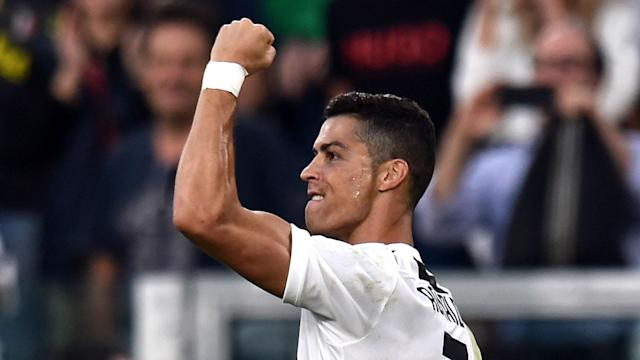 Another milestone came the way of Cristiano Ronaldo on Saturday as his early strike gave Juventus the lead against Genoa.