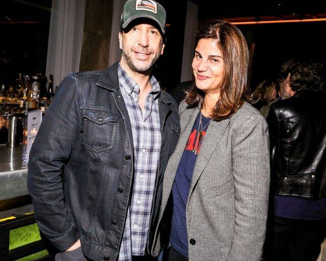 david schwimmer at nyc screening