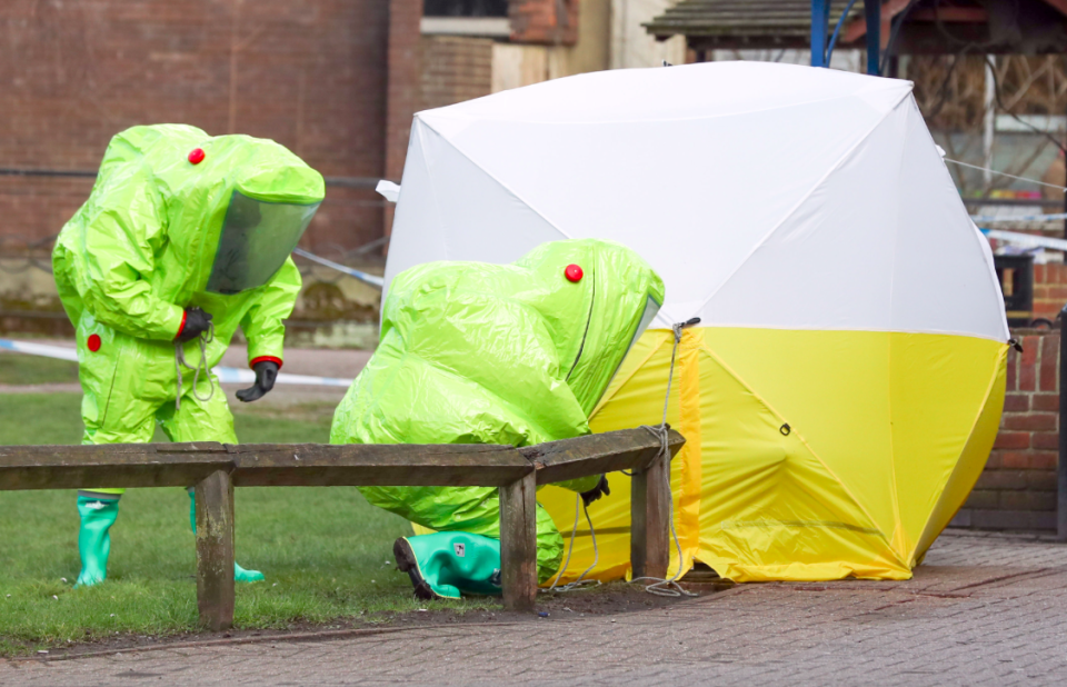 <em>The pair may have come into contact with the Novichok nerve agent outside of the area cleaned up after the Skripal attack (PA)</em>