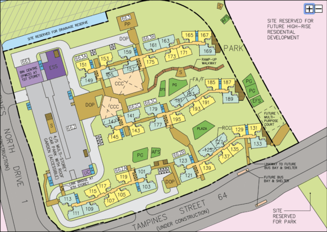 September BTO Tampines GreenGlen Site Map