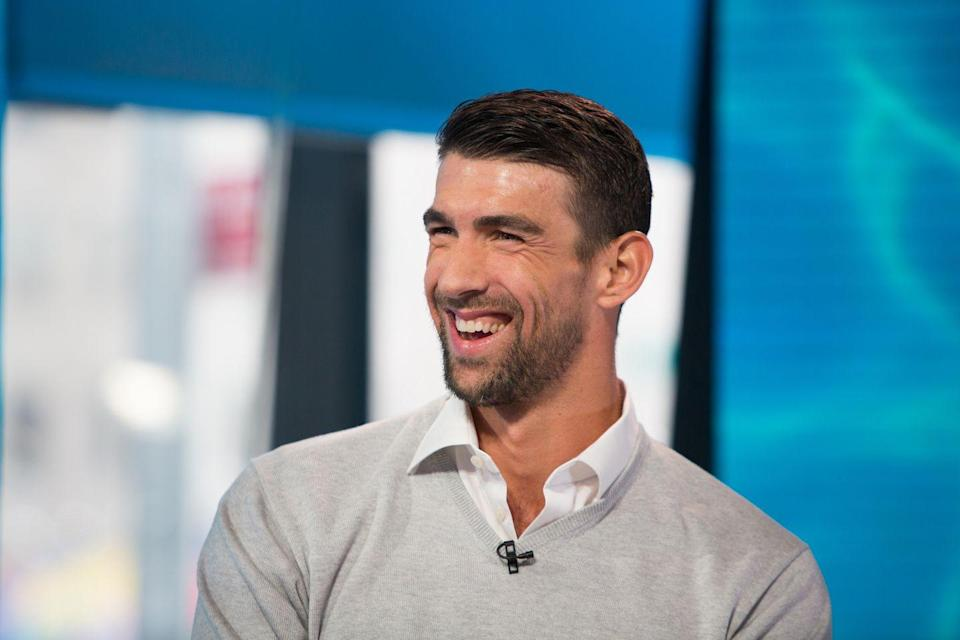 """<p>After his Olympic career ended, Michael Phelps began advocating for mental health support. The Olympian opened up about his own mental health battles — including depression — and <a href=""""https://www.bbc.com/worklife/article/20190109-michael-phelps-its-ok-to-not-be-ok"""" rel=""""nofollow noopener"""" target=""""_blank"""" data-ylk=""""slk:coined the phrase"""" class=""""link rapid-noclick-resp"""">coined the phrase</a>, """"It's OK to not be OK."""" </p>"""