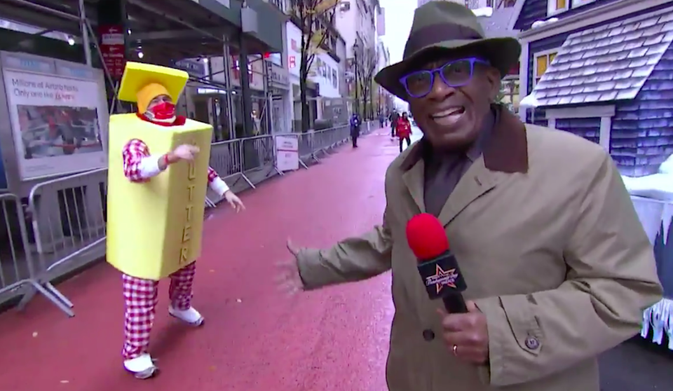 Al Roker retursn to the Macy's Thanksgiving Day Parade (Today Show / Twitter)