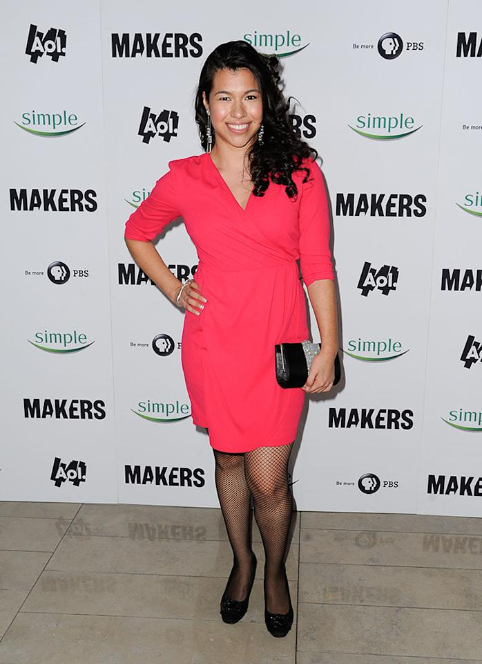 "Maritza Alarcon arrives at ""MAKERS: Women Who Make America"" New York Premiere at Alice Tully Hall on February 6, 2013 in New York City."