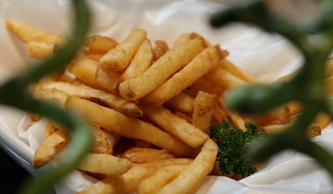 French fries came second on the list. Photo: Oliver Tsang