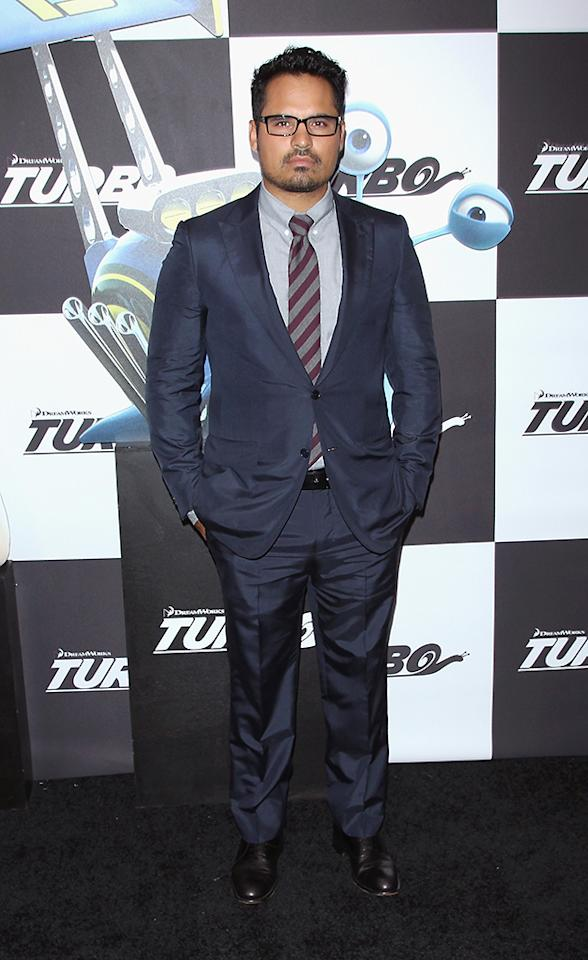 "NEW YORK, NY - JULY 09: Actor Michael Pena attends the ""Turbo"" New York Premiere at AMC Loews Lincoln Square on July 9, 2013 in New York City.  (Photo by Jim Spellman/WireImage)"