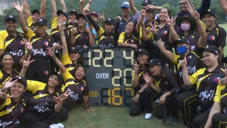 Cleaning up: domestic workers take Hong Kong cricket by storm