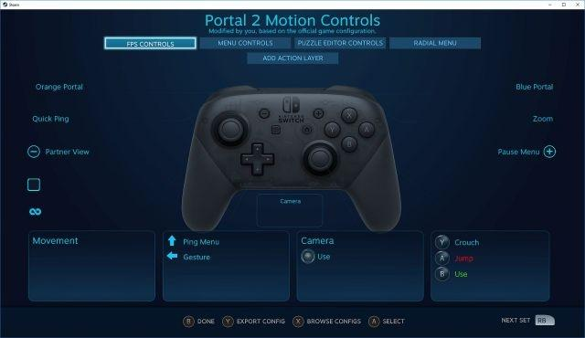 Steam Nintendo Switch Pro Controller support now available