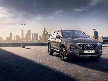 Hyundai 2019 Santa Fe photos shown off before its official unveiling at the Geneva Motor Show