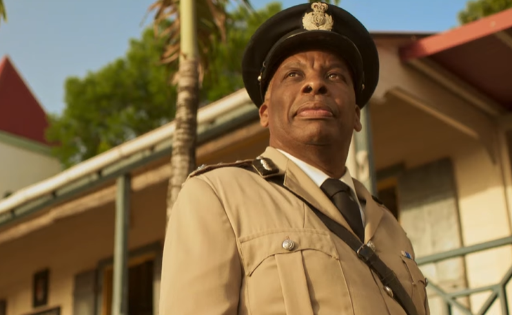Don Warrington plays Commissioner Selwyn Patterson in 'Death in Paradise' (BBC)