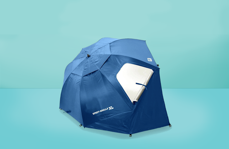 """<p>When you're not using quality beach essentials, it's easy for a fun day to get ruined. That's why it's important to come equipped with the <a href=""""https://www.goodhousekeeping.com/home-products/g31954468/best-beach-chairs/"""" rel=""""nofollow noopener"""" target=""""_blank"""" data-ylk=""""slk:best beach chairs"""" class=""""link rapid-noclick-resp"""">best beach chairs</a>, a great <a href=""""https://www.goodhousekeeping.com/home-products/g31744593/best-beach-umbrellas/"""" rel=""""nofollow noopener"""" target=""""_blank"""" data-ylk=""""slk:beach umbrella"""" class=""""link rapid-noclick-resp"""">beach umbrella</a>, a <a href=""""https://www.goodhousekeeping.com/clothing/g32142284/best-beach-bags/"""" rel=""""nofollow noopener"""" target=""""_blank"""" data-ylk=""""slk:durable beach bag"""" class=""""link rapid-noclick-resp"""">durable beach bag</a> and a good beach tent that won't flip over in the wind so you can enjoy your beach day to the fullest.</p><p>The <a href=""""https://www.goodhousekeeping.com/institute/about-the-institute/a19748212/good-housekeeping-institute-product-reviews/"""" rel=""""nofollow noopener"""" target=""""_blank"""" data-ylk=""""slk:Good Housekeeping Institute"""" class=""""link rapid-noclick-resp"""">Good Housekeeping Institute</a> Textiles Lab found the best beach tents online that provide a protection rating of UPF 50 or higher, scored high reviewer ratings, come from top-performing brands or are most searched. While shopping, make sure to look for UPF protection of 50 or higher, durable stakes or sandbags to stand up against wind, and lightweight tents that come with a storage bag with a handle for easier carrying (some beach tents can weigh up to about nine pounds!). Also keep in mind the dimensions of each tent, especially if you plan on using it for a group of people, pets or kids. </p><p>Below are the<strong> best beach tents of 2021</strong>,<strong> according to reviewers:</strong></p>"""