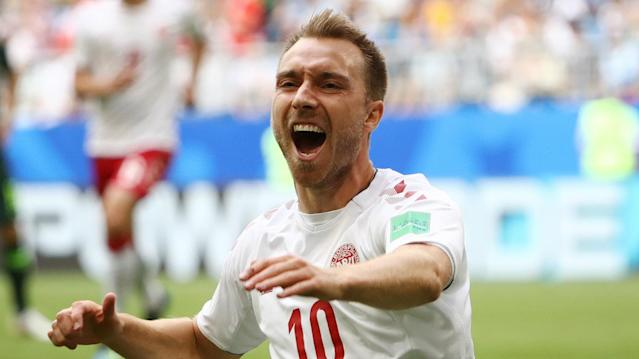 The Tottenham playmaker has taken his Premier League form into the World Cup with Denmark and has been praised by his former national team coach