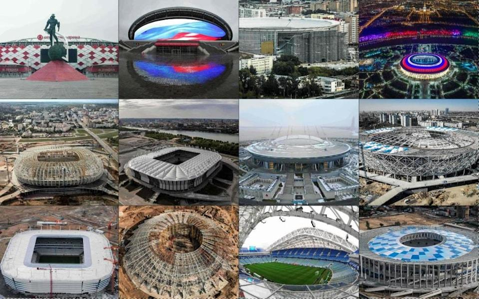 Every stadium that will host a World Cup match this summer