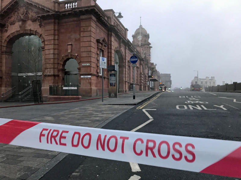 Nottingham train station will not re-open today after fire