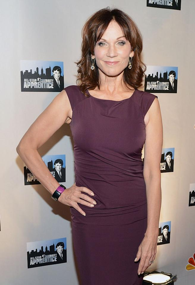 "NEW YORK, NY - OCTOBER 12:  Marilu Henner attends the ""Celebrity Apprentice All Stars"" Season 13 Press Conference at Jack Studios on October 12, 2012 in New York City.  (Photo by Slaven Vlasic/Getty Images)"
