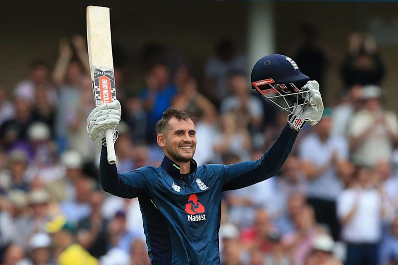 Hearty Hales: England's Alex Hales scored 147: AFP/Getty Images