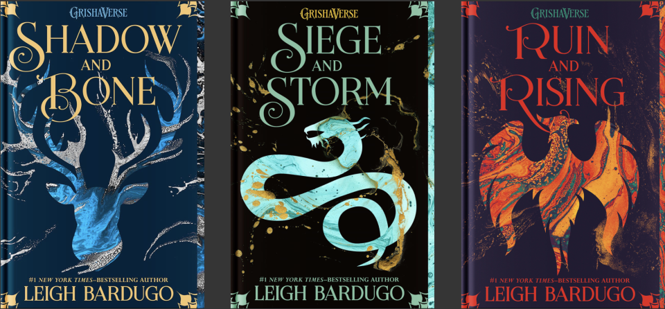 The Shadow and Bone Trilogy (Photo: leighbardugo.com)
