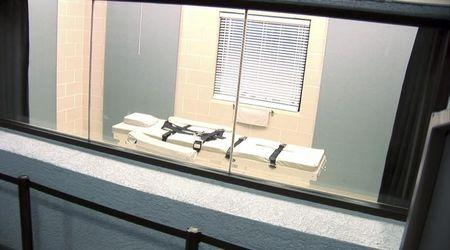 Captivating Screen Grab Of The Execution Chamber At The Arizona State Prison Complex In  Florence