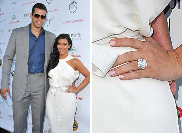 Is Kris Humphries Auctioning Off Kim Kardashianu0027s Engagement Ring?