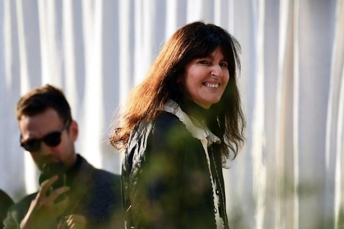 French fashion designer Virginie Viard who took the reins at Chanel after the death of Karl Lagerfeld last year (AFP Photo/CHRISTOPHE ARCHAMBAULT )