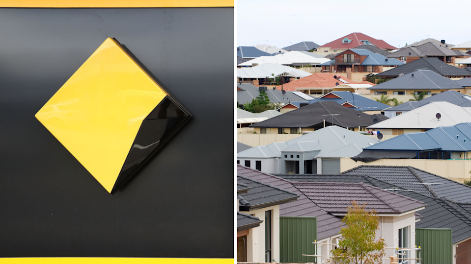 CommBank has increased its serviceability requirements. (Images: Getty).