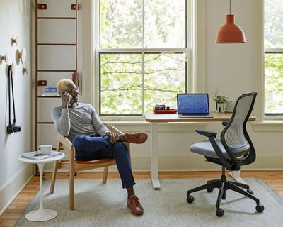 Home Time. Knoll + Muuto brings good design to the home office with ergonomic performance and new perspectives on Scandinavian design