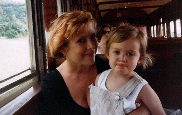 Billie posted this sweet throwback photo of her and her mum Carrie on her Instagram. Source: Instagram