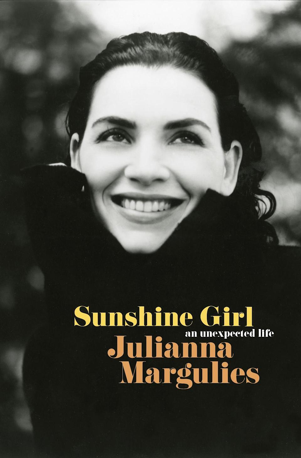 """<p>In an <a href=""""https://ew.com/books/julianna-margulies-memoir-interview-good-wife-er/"""" rel=""""nofollow noopener"""" target=""""_blank"""" data-ylk=""""slk:unflinching memoir"""" class=""""link rapid-noclick-resp"""">unflinching memoir</a>, the <em>Good Wife</em> actress opens up about her disjointed childhood, her parents' messy divorce, her rise to fame, and of course, George Clooney. (May 4)</p>"""