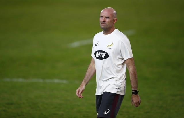 South Africa head coach Jacques Nienaber is preparing for the British and Irish Lions