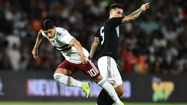 Leandro Paredes Alan Pulido Argentina Mexico 20112018