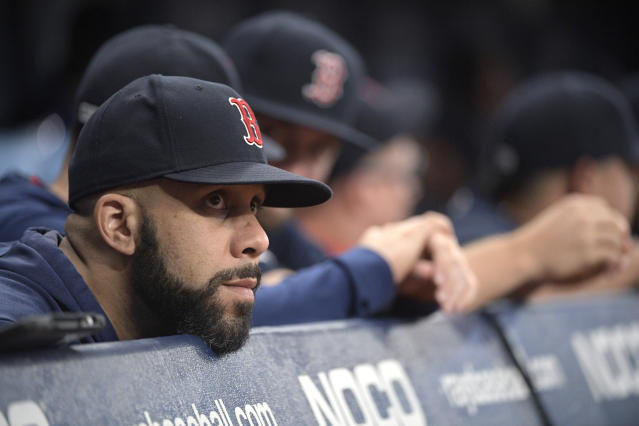 The end has come for the 2019 Boston Red Sox. (AP Photo/Phelan M. Ebenhack)