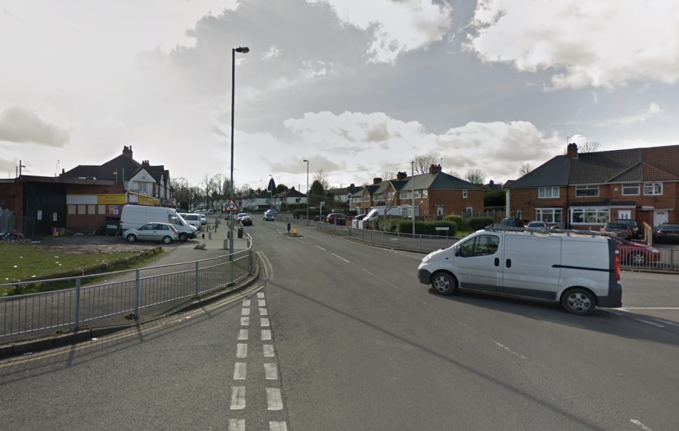 The attack took place on Tynedale Road, Birmingham. (Google)