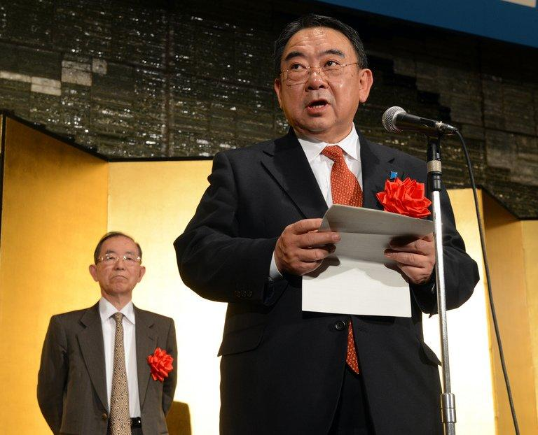 Masato Kitera, a career diplomat and Japan's new ambassador to China, pictured in Tokyo, on December 20, 2012