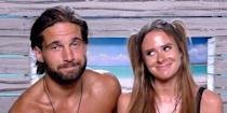 """<p><strong>Relationship status: Still together / Still each other's type on paper and have a <strong>LOVE ISLAND baby!</strong></strong></p><p>Hooray! Jamie and Camilla are still very much together, and we couldn't be happier for both of them.</p><p>They proved the strength of their relationship by moving in together in Feb 2019. Camilla wrote on Instagram: """"And we are in. Had such a fun day with @jamiejewitt_picking up the keys for the house we have found to rent!""""</p><p>In May 2020, <a href=""""https://www.cosmopolitan.com/uk/entertainment/a32553279/love-island-camilla-thurlow-pregnant-baby-jamie-jewitt/"""" rel=""""nofollow noopener"""" target=""""_blank"""" data-ylk=""""slk:the pair then announced they were expecting their first child together"""" class=""""link rapid-noclick-resp"""">the pair then announced they were expecting their first child together</a> and <a href=""""https://www.cosmopolitan.com/uk/entertainment/a34272199/camilla-thurlow-jamie-jewitt-relationship-timeline/"""" rel=""""nofollow noopener"""" target=""""_blank"""" data-ylk=""""slk:got engaged"""" class=""""link rapid-noclick-resp"""">got engaged</a>, before Camilla <a href=""""https://www.cosmopolitan.com/uk/entertainment/a34219879/camilla-thurlow-jamie-jewitt-welcome-baby-love-island/"""" rel=""""nofollow noopener"""" target=""""_blank"""" data-ylk=""""slk:gave birth to their daughter"""" class=""""link rapid-noclick-resp"""">gave birth to their daughter</a> Nell in October 2020. </p>"""