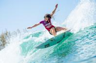 <p>You're doing swell! It's surfer Caroline Marks. </p>