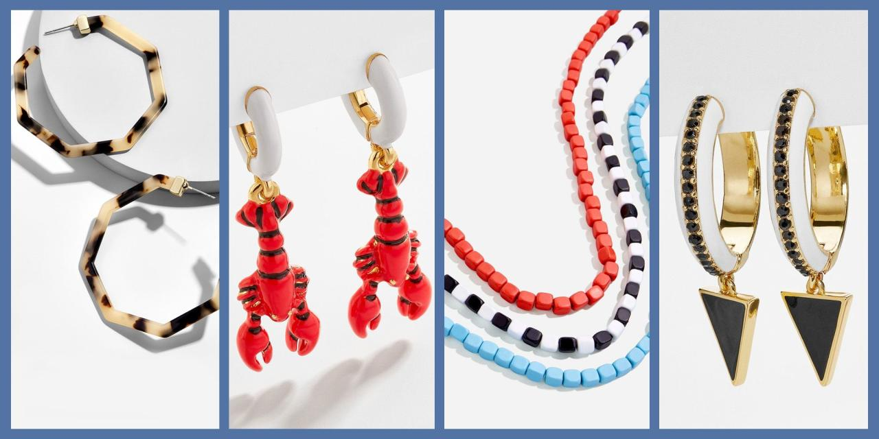 """<p>Summer style is all about having fun, and we can't think of many things more fun than getting to fill our shopping bags with a bounty of baubles for a decidedly petite price. Right now, trendy jewelry brand <a href=""""https://www.baublebar.com/category/shop-sale/10-event.html"""" target=""""_blank"""">Baublebar is hosting a special sale</a> featuring some of their cutest seasonal styles—including everything from layerable beaded necklaces and minimalist gold cuffs to Maine-ready lobster-shaped drop earrings and glitzy, gem-studded rings—for just $10. Yes, your read that right: every single item in the sale, regardless of its original price, can be yours for a Hamilton. </p><p>In case that steep markdown wasn't inspiration enough to peak your jewelry interest, we've perused the sale and picked out a sampling of the most coveted styles that are sure to make your summer wardrobe sing (with the original price shown, so you can really appreciate how much of a deal you're getting.) Check out all of the looks we'll be adding to our own carts below, then <a href=""""https://www.baublebar.com/category/shop-sale/10-event.html"""" target=""""_blank"""">head over to Baublebar</a> to take a look at the full sale. </p>"""