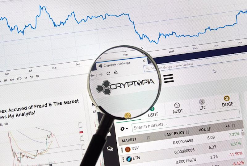 New Zealand crypto exchange Cryptopia is leaving its customers in the cold again. | Source: Shutterstock
