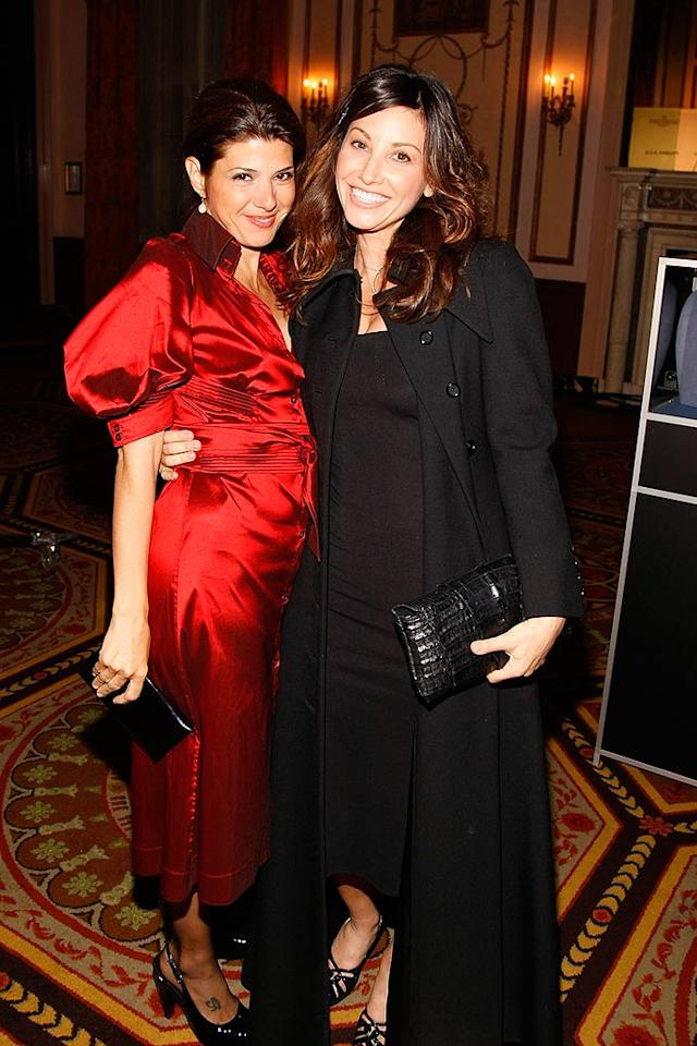 "Marisa Tomei and Gina Gershon came out to support the cause, which is committed to finding a cure for the fatal neuromuscular disorder (also known as Lou Gehrig's Disease) that causes progressive paralysis of the muscles. Jemal Countess/<a href=""http://www.wireimage.com"" target=""new"">WireImage.com</a> - October 16, 2007"