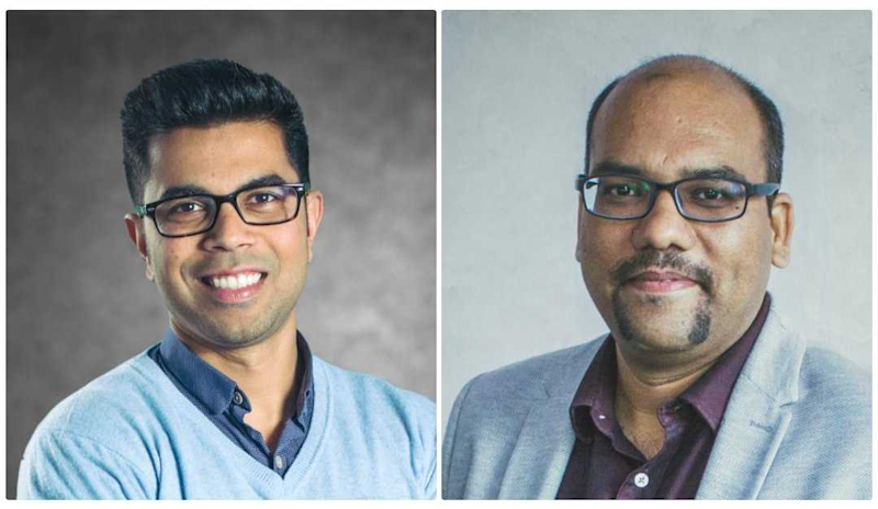 ixigo Co-founders Rajnish Kumar and Aloke Bajpai
