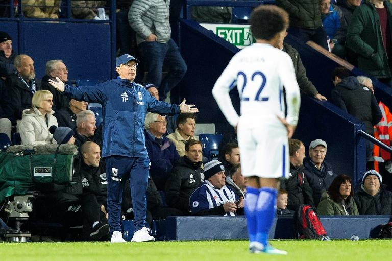 A 4-0 defeat to Chelsea has left West Brom head coach Tony Pulis fighting to save his job after just two wins in his last 21 Premier League games