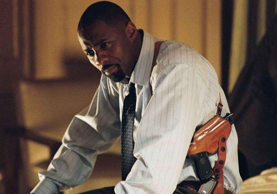 <p>A former teacher is after his student on prom night after being jailed for killing her family. Enter Detective Winn, a hot man better known as Idris Elba IRL.</p>