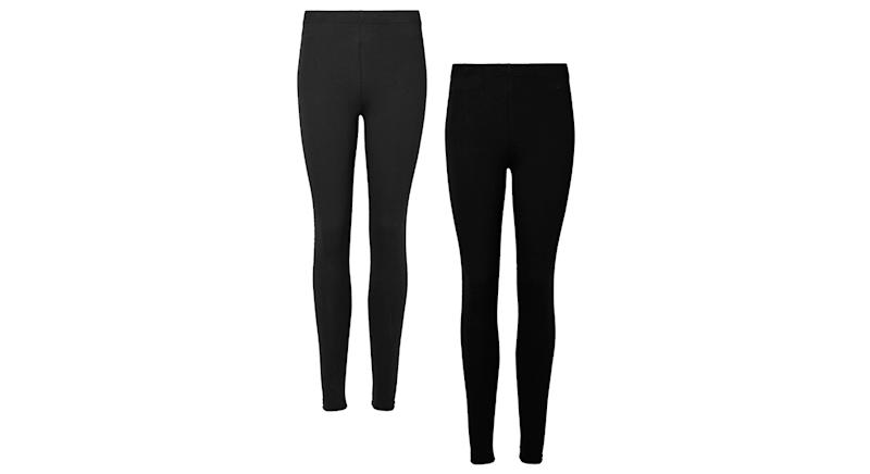 High Waist Leggings (2 pack)