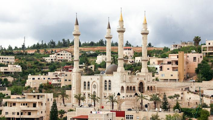 A mosque in the Israeli village of Abu Ghosh.